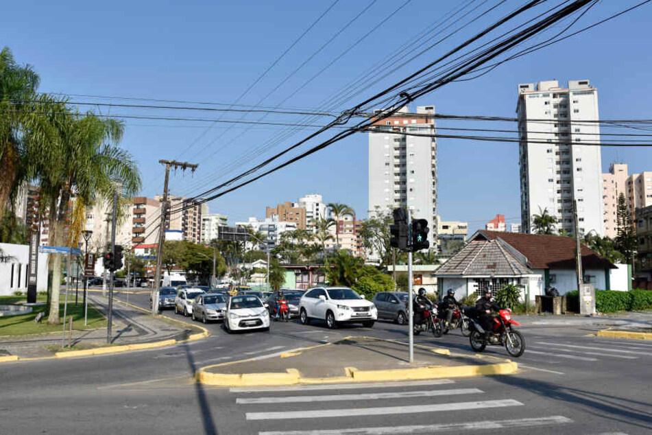 Die Stadt Joinville. Heute leben hier rund 570.000 Menschen.