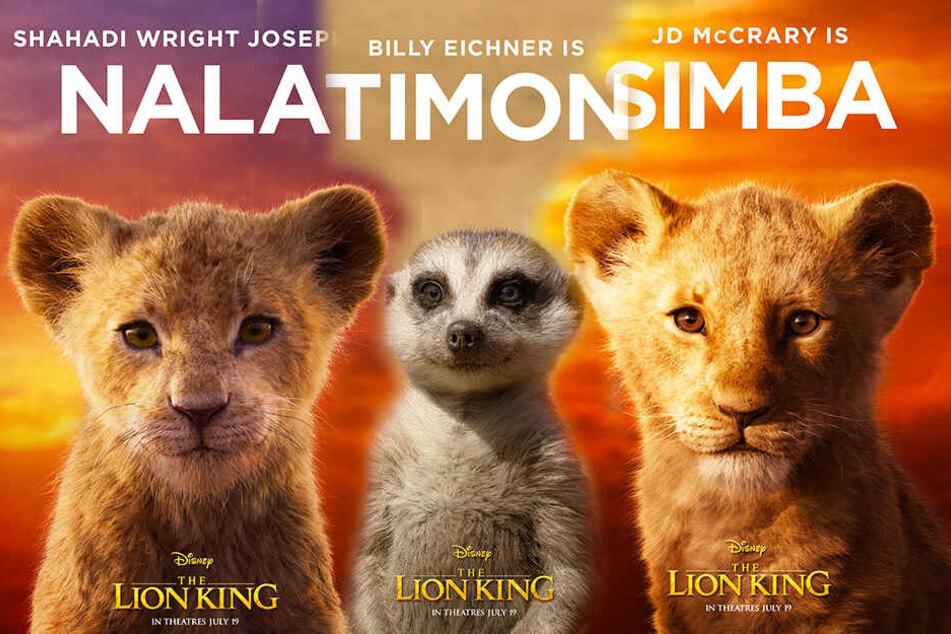 """Wie niedlich! Neue Charakterposter zu """"Der König der Löwen"""" sind da"""