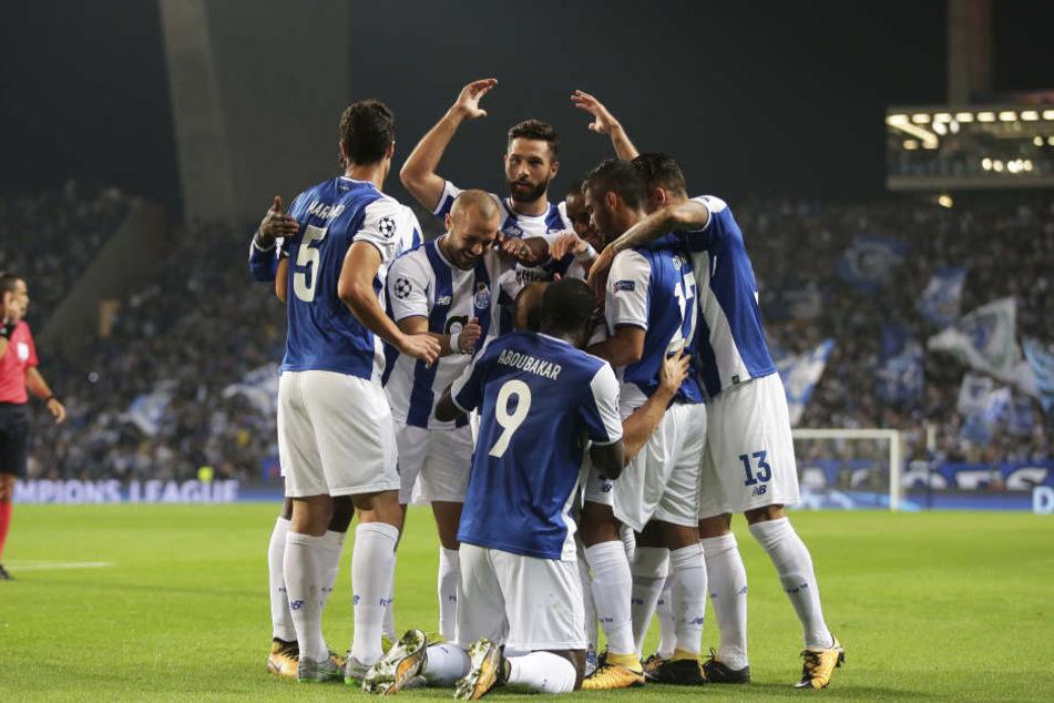 Der portugiesische Meister gewann sein Heimspiel gegen RB Leipzig mit 3:1.