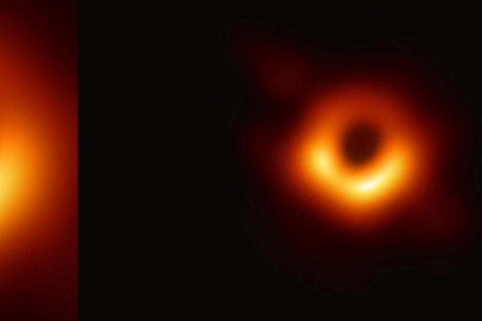 Sensation! Hier ist das erste Bild eines Schwarzen Lochs zu sehen