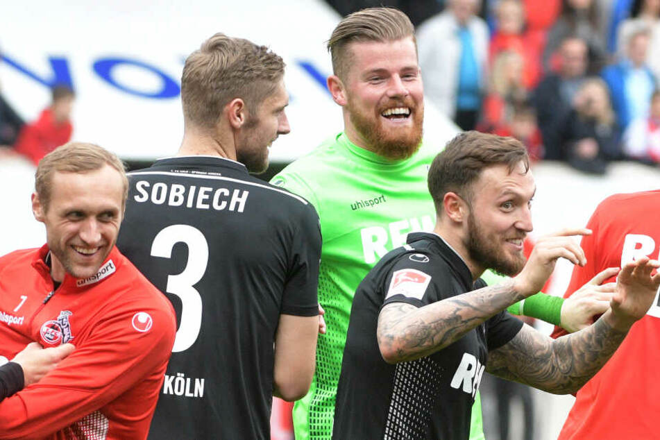Nach sechs Siegen in Folge herrscht beste Stimmung beim 1. FC Köln.