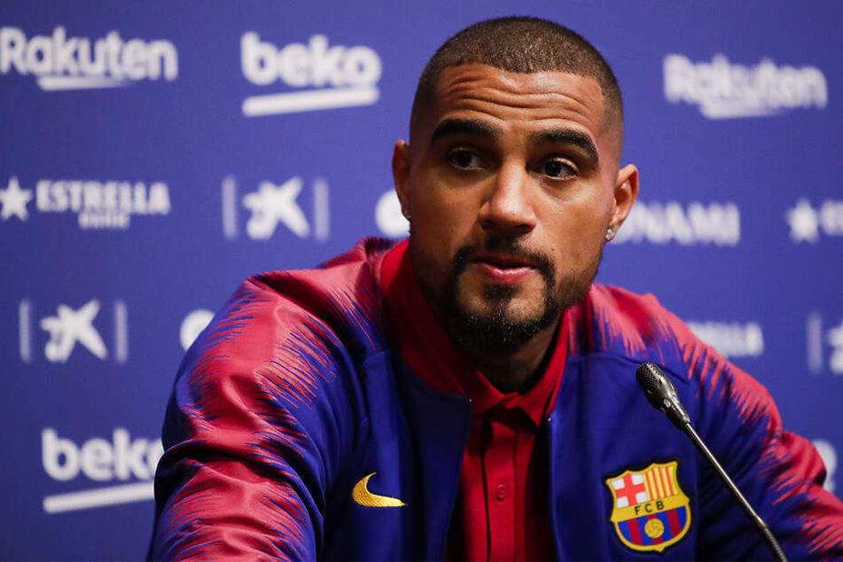 Schock für Kevin-Prince Boateng: In seinem Haus in der spanischen Millionenmetropole Barcelona wurde eingebrochen.