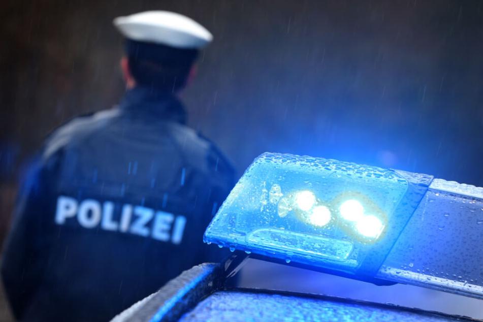 Die Polizei umzingelte den Geisterfahrer mit mehreren Streifenwagen (Symbolfoto).