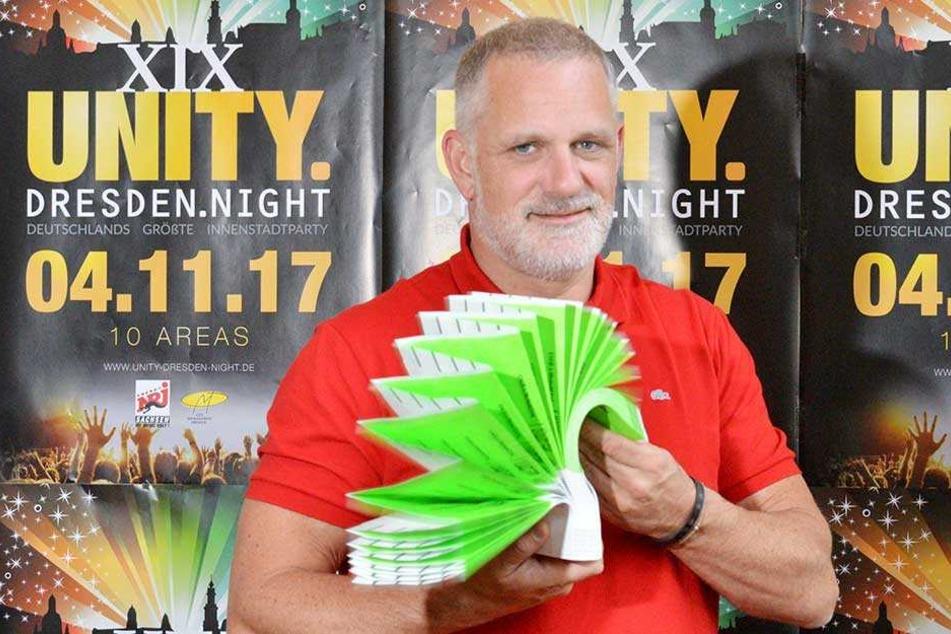 2018 wird es die Unity Night in Dresden nicht geben, das kündigte Veranstalter Ralf Koppetzki an.