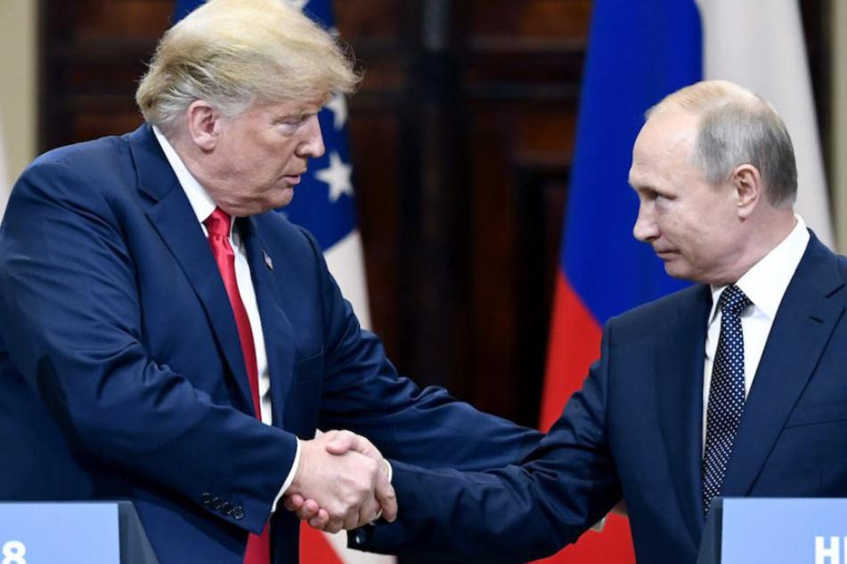 Reichen sich hoffentlich bald wieder die Hand: US-Präsident Donald Trump (72) und sein russischer Amtskollege Wladimir Putin (66).