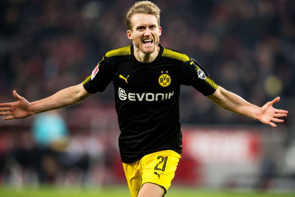 Dieses Bild gab es viel zu selten zu sehen: André Schürrle jubelt im Trikot von Borussia Dortmund.