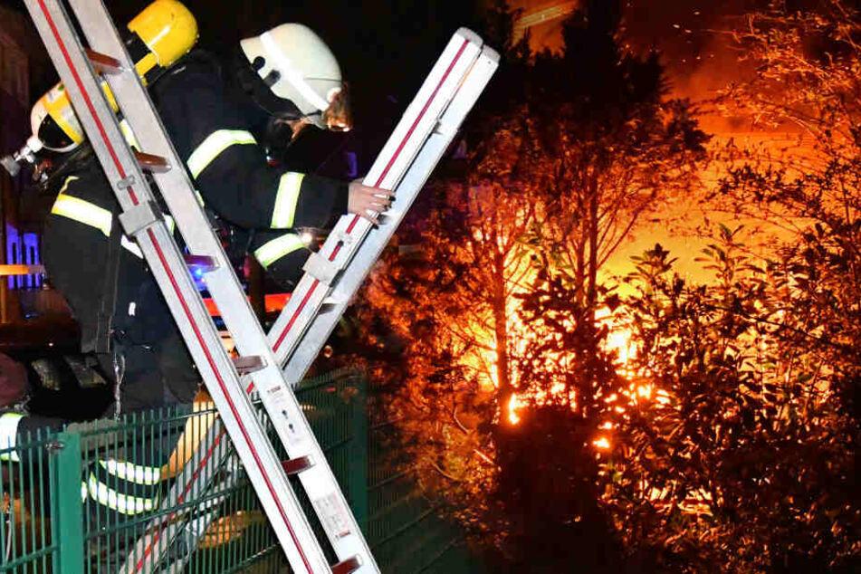 Flammen lodern in Hamburg, aber die Feuerwehr kommt nicht durch!
