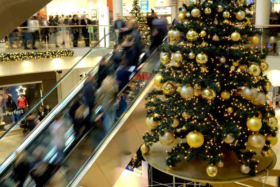 Im Leipziger Zentrum darf am 2. und 16. Dezember geshoppt werden.