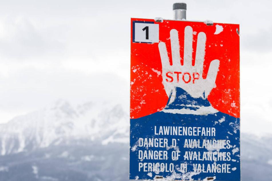 Lawinengefahr! Hier darf man an Weihnachten auf keinen Fall Ski fahren