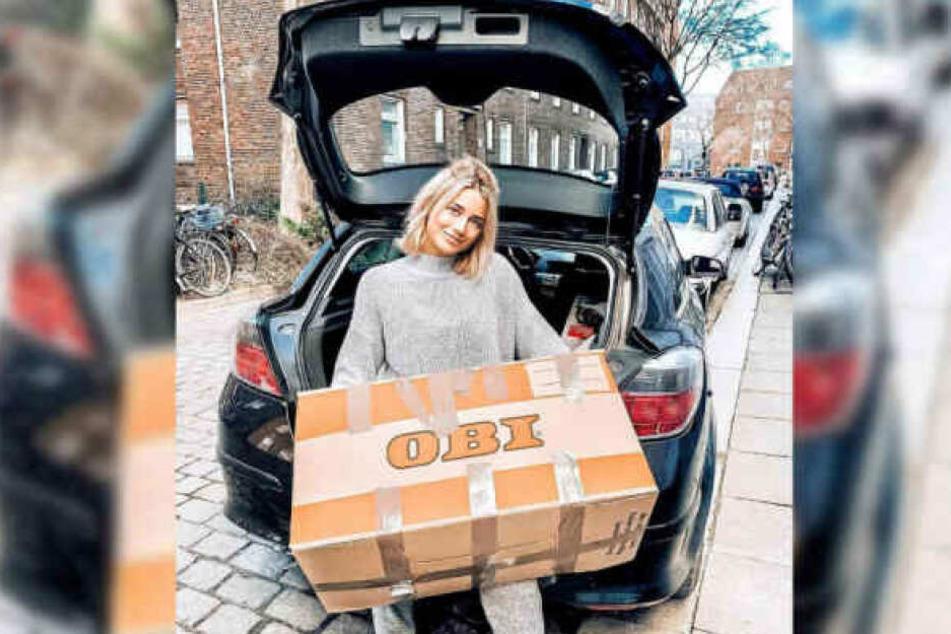 Janina Celine Jahn packte Anfang des Jahres ihre Umzugskartons.