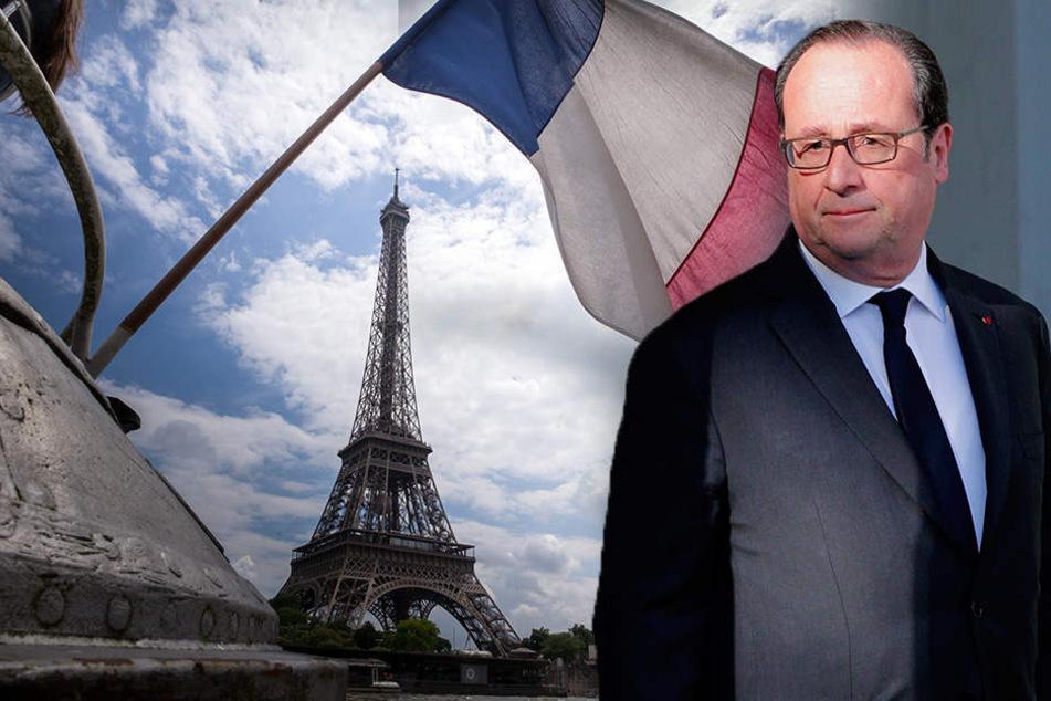 Frankreich wählt heut den Nachfolger von Präsident François Hollande.