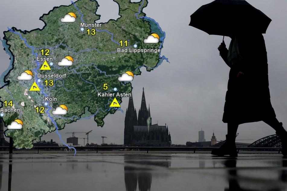 Wind und wechselhaftes Wetter: In NRW wird's ungemütlich