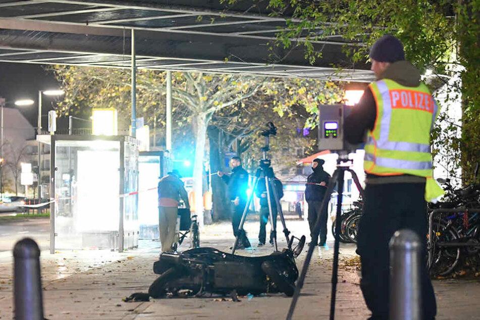 Polizei schnappt Mann, der in Menschen raste