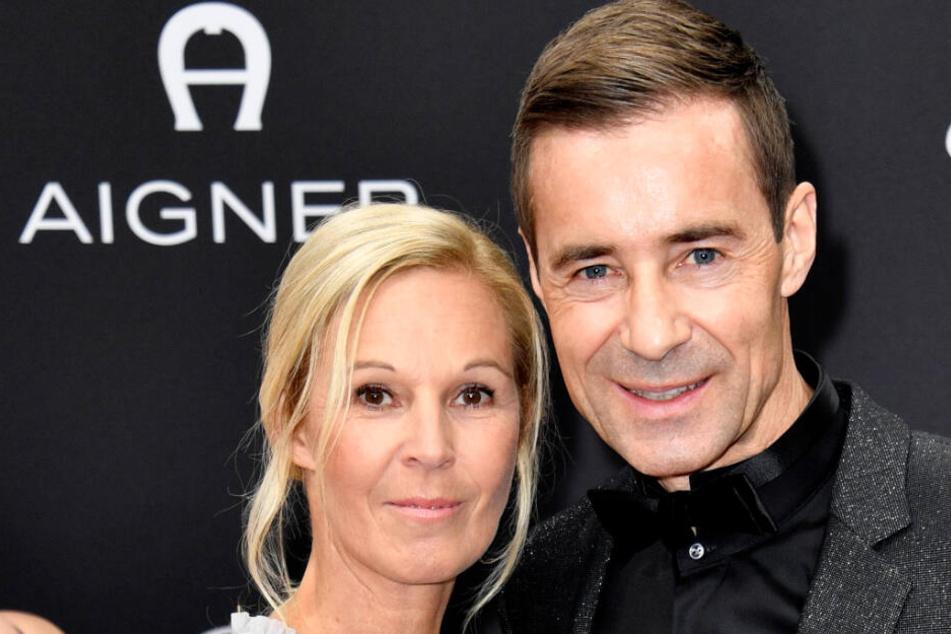 Kai Pflaume (52) kam mit Ehefrau Ilke zur Preisverleihung.