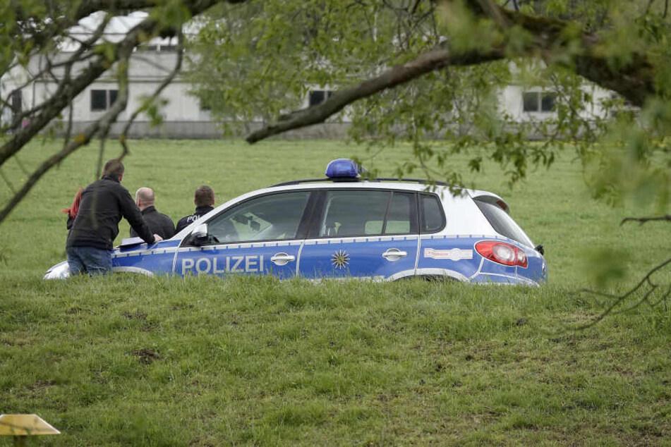 Die Kriminalpolizei ist vor Ort.