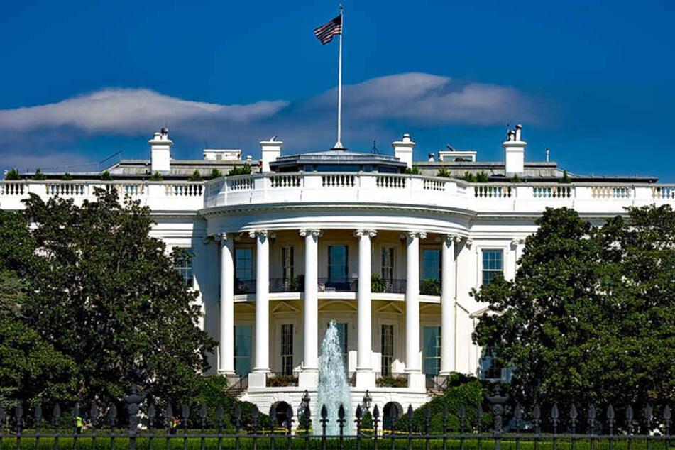 Schade! Das Weiße Haus besteht nicht, wie jahrelang vermutet, aus unserem ostwestfälischen Sandstein.