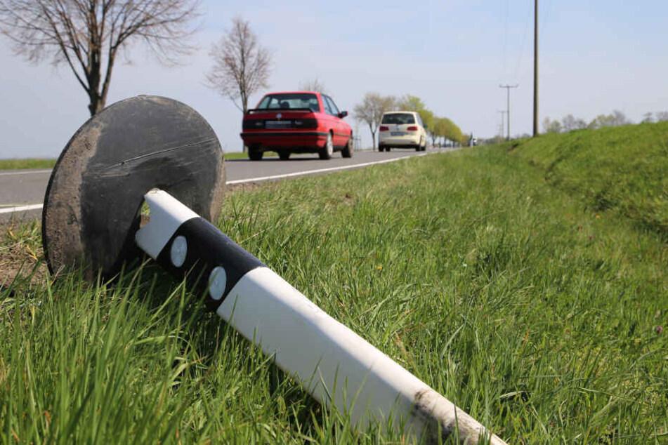 Zwischen Krostitz und Kospa ist am Freitagabend ein 57-jähriger Kradfahrer tödlich verunglückt.