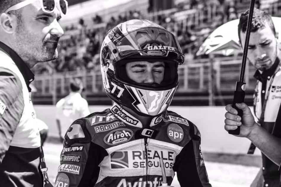 Andreas Perez' Verletzungen nach dem schweren Sturz am Sonntag waren einfach zu groß. Seine Familie und sein Team stehen unter Schock.