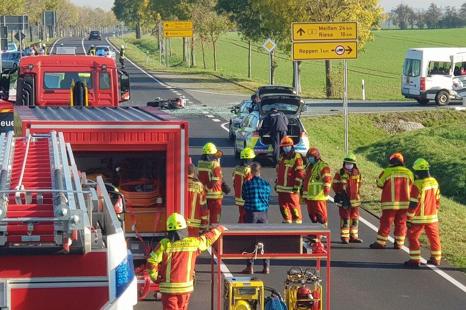 Tragischer Unfall: Zwei Tote bei Crash von Motorrad und Transporter