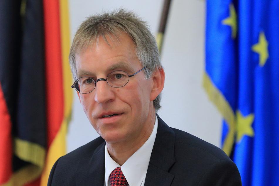 Laut Sachsen-Anhalts Verfassungsschutzchef Jochen Hollmann war der Abschlag von Halle weder vorhersagbar noch vorhersehbar. (Archivbild)