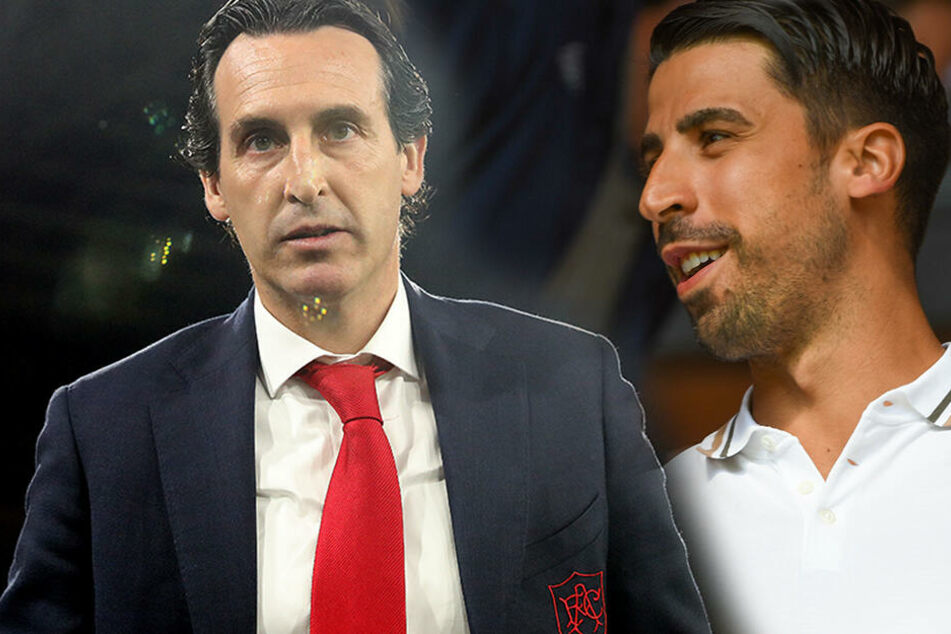 Folgt Sami Khedira Özil nach London? Arsenal-Coach Emery äußert sich!