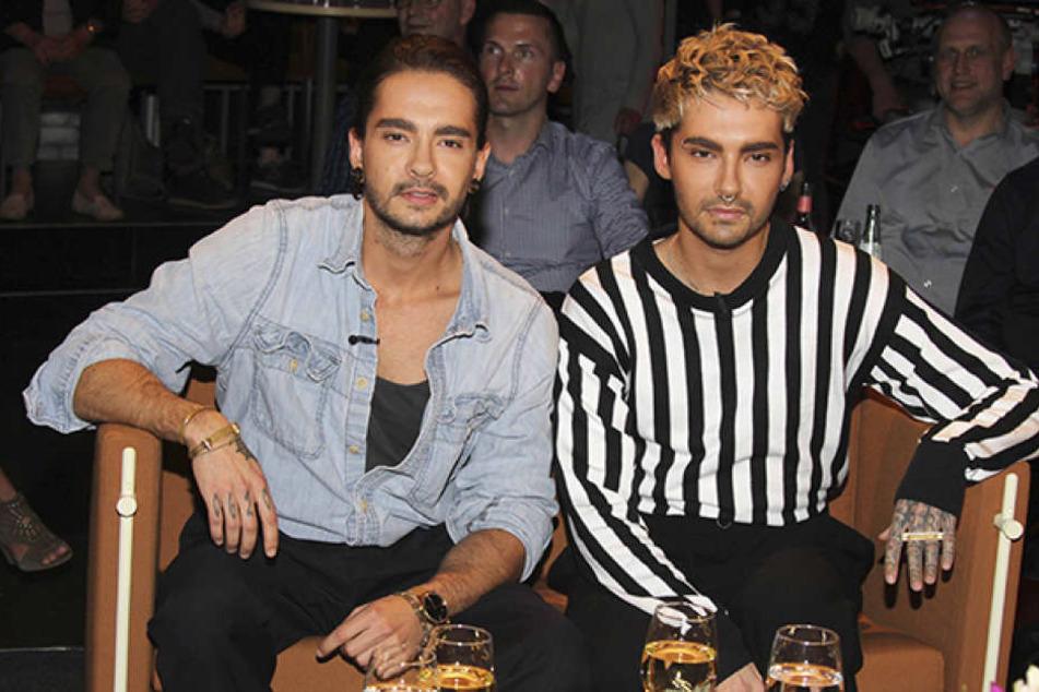 Ob sie mit ihm einzieht: Derzeit turtelt Heidi mit Bill Kaulitz (28, r.) Zwillingsbruder Tom.