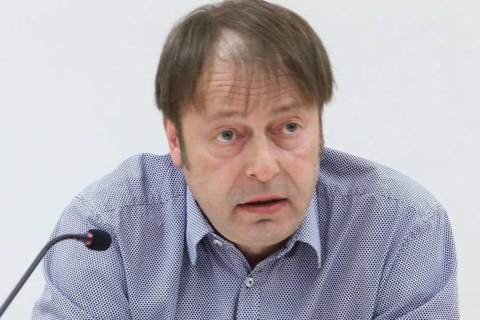 Thomas Lehmann (49, Grüne) will keinen Fußwegbeauftragten, dafür aber mehr Personal im Tiefbauamt.