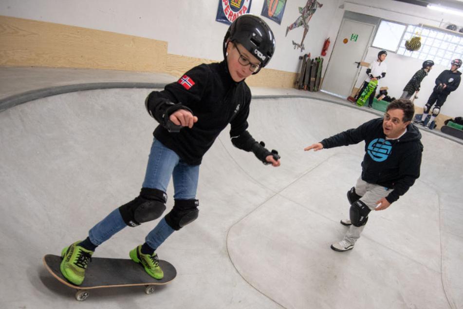 Skateboarden in der Schule! Das können Göppinger Schüler jetzt