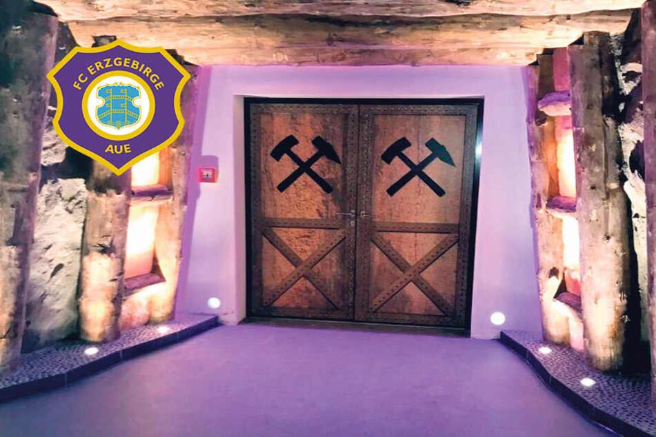 Aus dem Schacht hinaus ans Licht: Neuer Spielertunnel für Erzgebirge Aue!