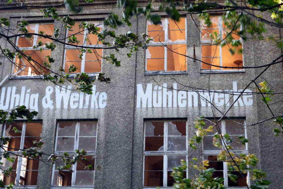 In der Ruine der 1993 geschlossenen Mühlenwerke Bad Lausick ereignete sich die Tragödie.