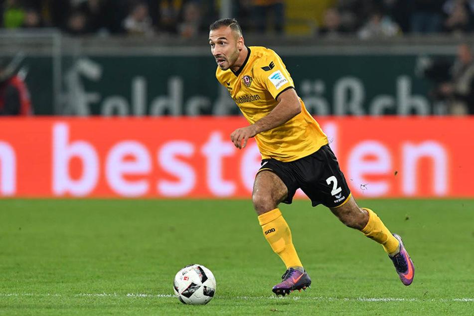 Dynamo-Goalgetter Akaki Gogia wird gegen Bielefeld das letzte Mal für Dynamo auf dem Platz stehen.