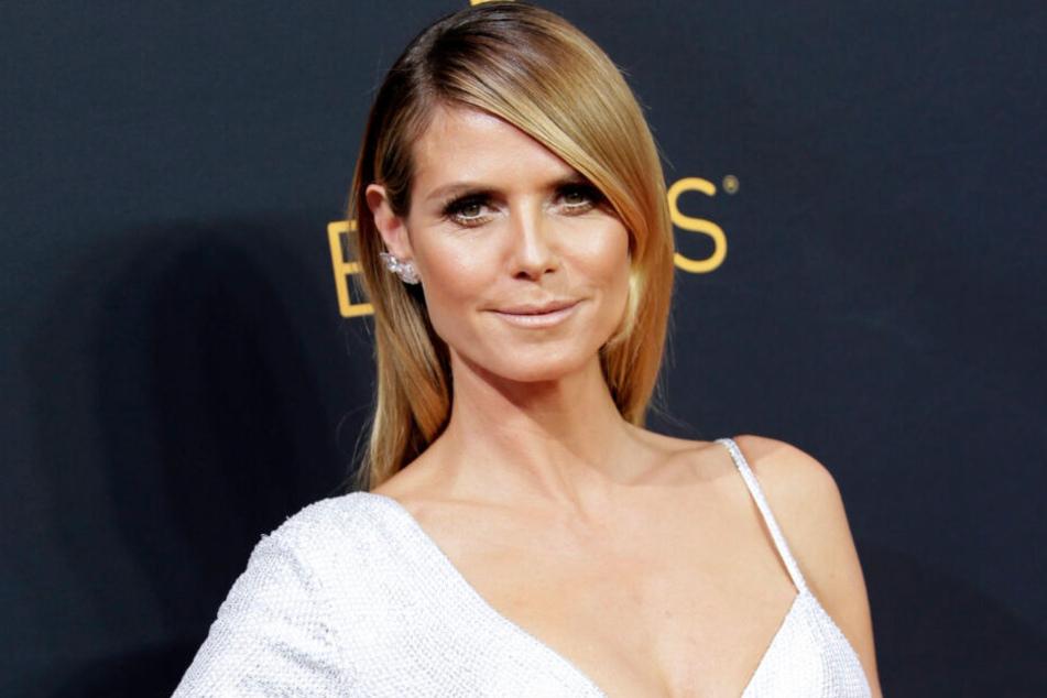 """Heidi Klum (45) sucht auch in diesem Jahr wieder """"Germany's next Topmodel""""."""