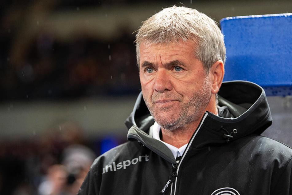 Für Fortuna-Coach Friedhelm Funkel war es keine schöne Rückkehr an die alte Wirkungsstätte.