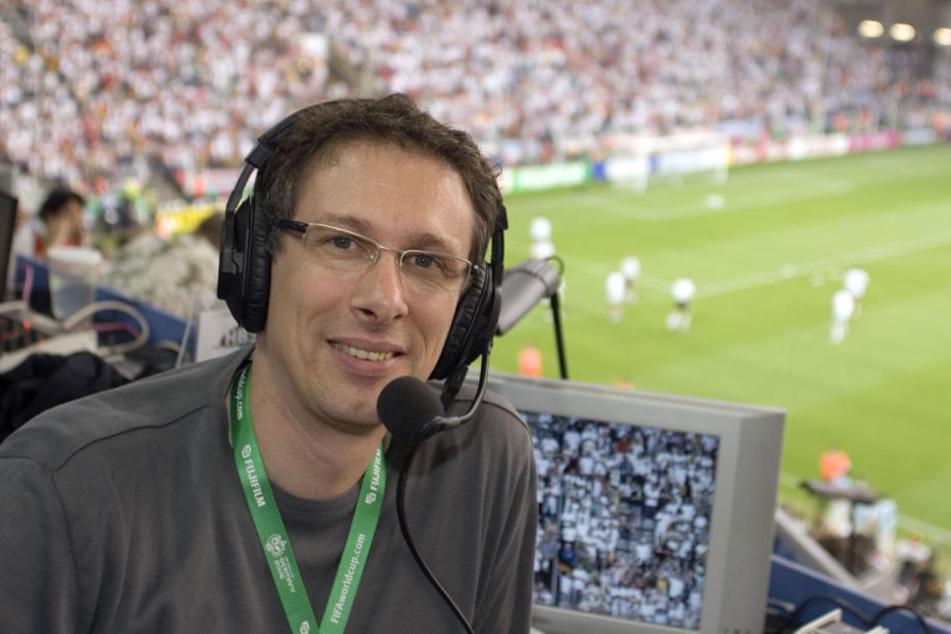 ARD-Kommentator Steffen Simon.