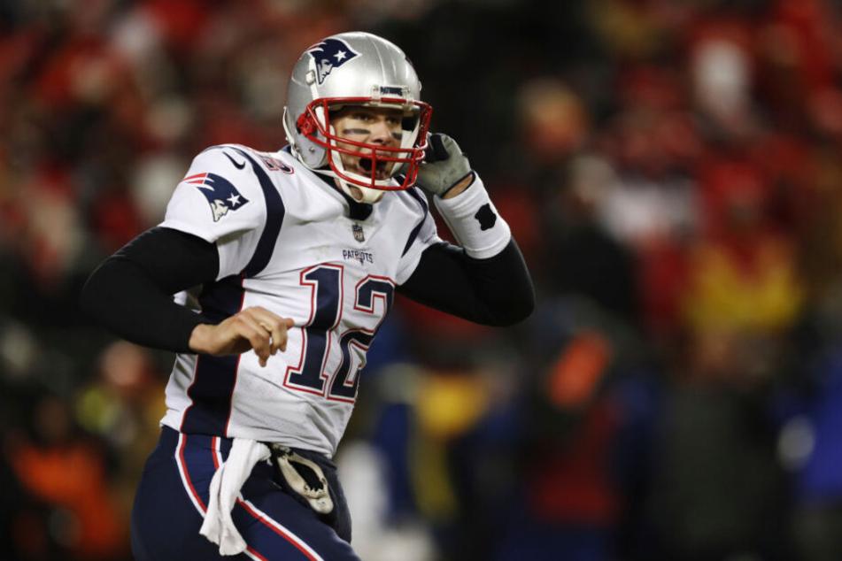 Tom Brady könnte mit der sechsten Meisterschaft Geschichte schreiben.