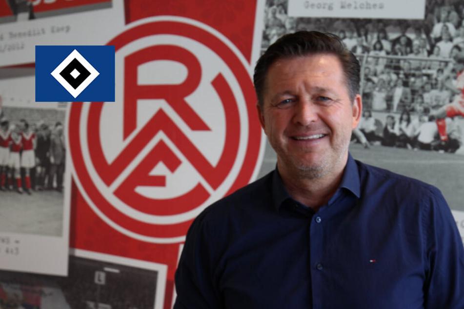 Ex-HSV-Trainer Titz heuert bei Tradionsclub in vierter Liga an