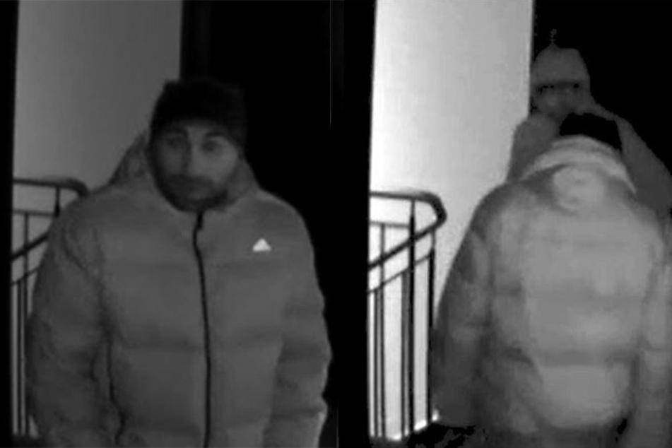 Diese Männer brachen in eine Wohnung in der Gossowstraße ein.