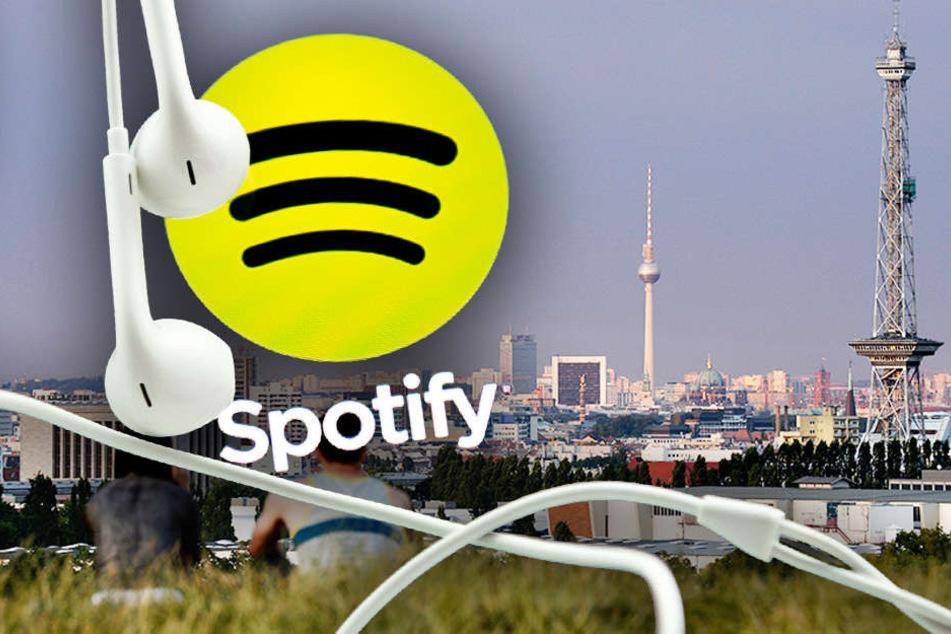 Spotify verrät, welche Songs in Berlin am liebsten gehört wurden