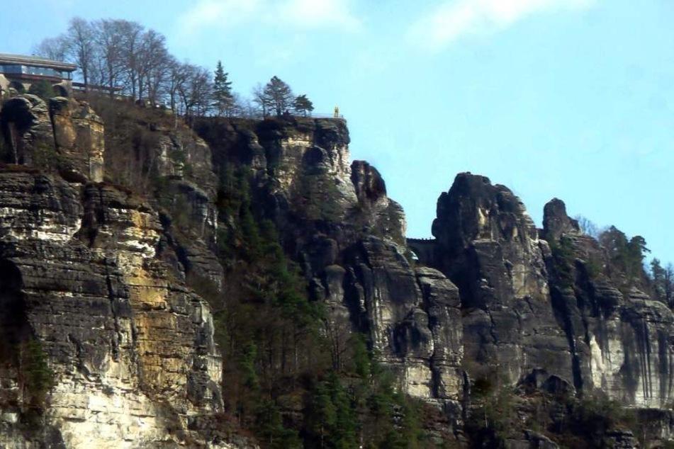Vielleicht wird eine neue Besucherplattform über dem gesperrten Felsbereich errichtet.