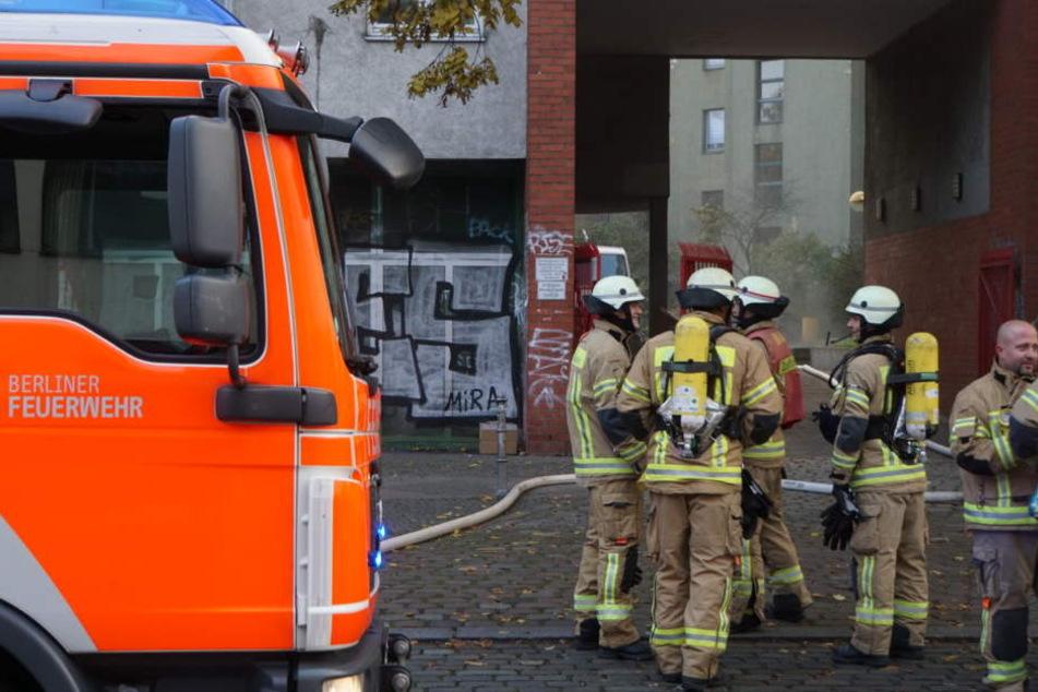 Die Feuerwehr konnte den Brand löschen, bevor er noch größeren Schaden anrichtete.