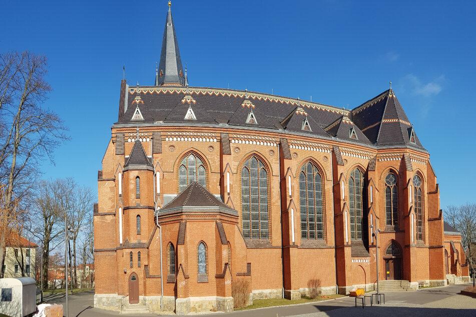 Wird gerade saniert: die katholische St.-Jakobus-Kathedrale in Görlitz.