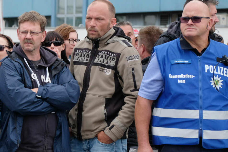 Rote Linie nicht übertreten: So werden Halberg-Streikende zurückgehalten