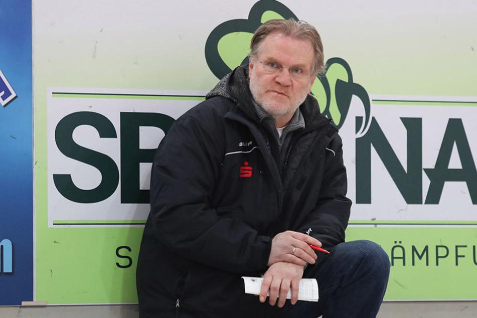 Er soll den Job machen: Franz Steer - ehemaliger Trainer der Starbulls Rosenheim.