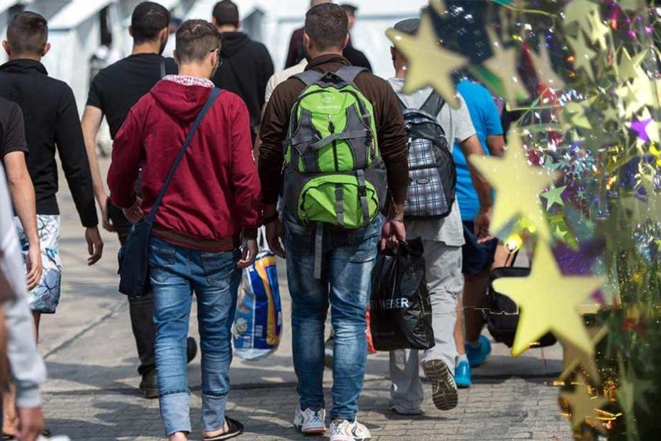 Flüchtlinge Weihnachtsgeld