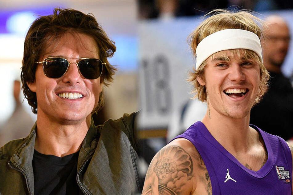 Epischer Promi-Boxkampf: Justin Bieber will gegen Tom Cruise in den Ring steigen