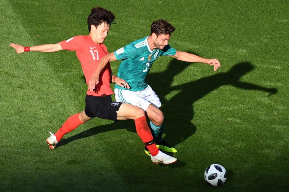 Jonas Hector (28) kam bei der enttäuschenden WM 2018 in zwei Spielen zum Einsatz.