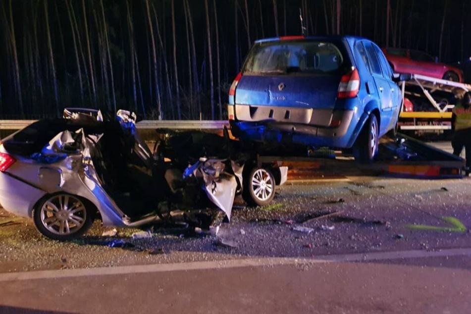 Schwerer Unfall auf der A2 in Richtung Berlin.