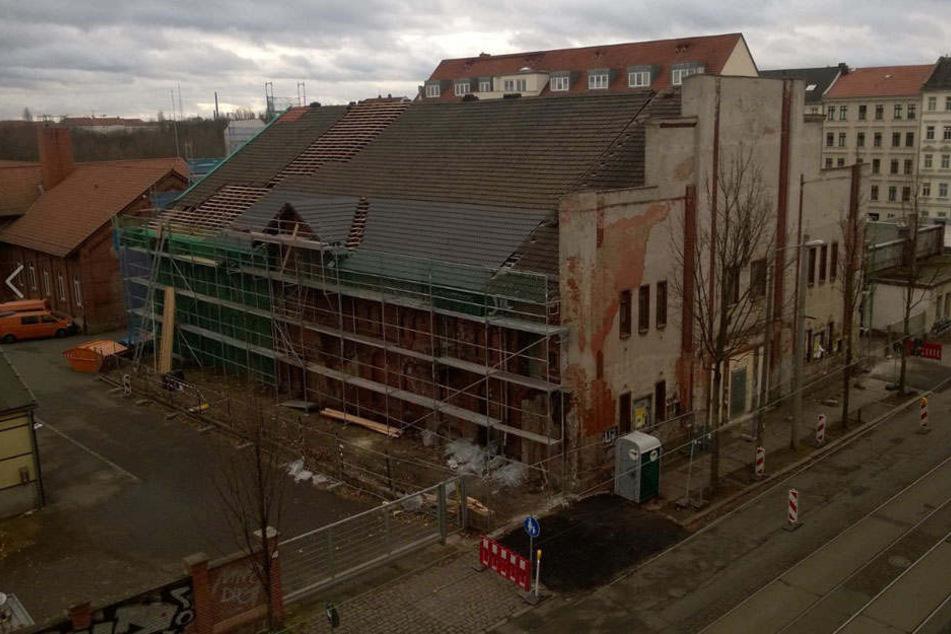"""Seit 2015 kämpft die """"IG Fortuna"""" für die Wiederbelebung des baufälligen Gebäudes."""