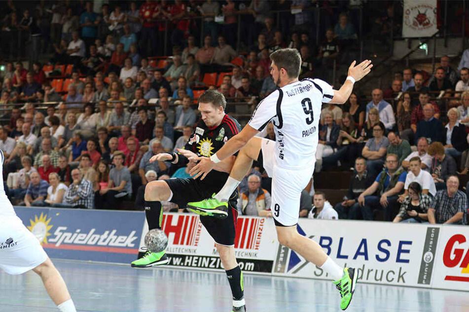 Volle Halle: Zahlreiche Fans schauten das Spiel ihres Vereins gegen TuS Ferndorf.