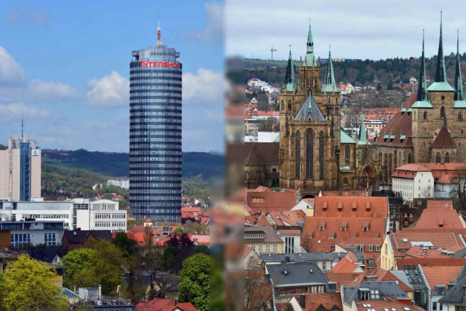 Ist Jena besser für die Zukunft gerüstet als Erfurt?
